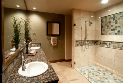 Aging In Place Accessible Bathroom