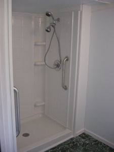 Shower Installation - Schrader - 2